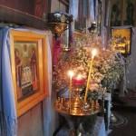 2013. Литургия в Храме Святого Великомученика Георгия Победоносца